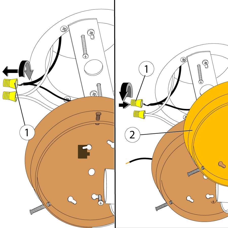 Copy the wiring of the old fixture to the new one.