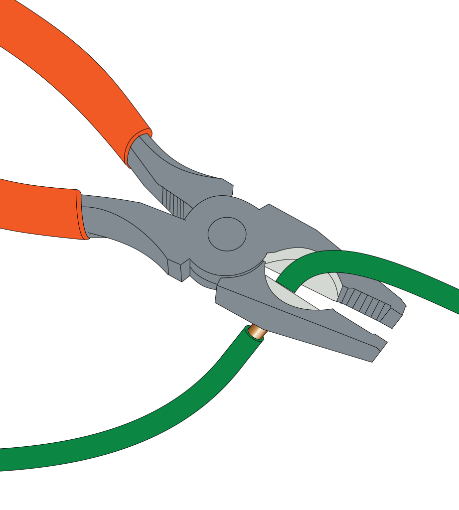 Expose the the wire, but don't remove the insulation to make a wye-connection.